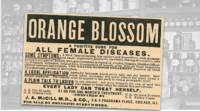 Orange Blossom Vintage Ad