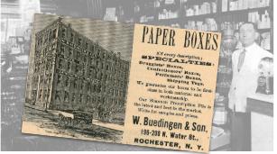 Paper Boxes Vintage Ad