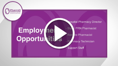 PharmD on Demand Careers Video