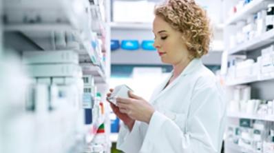 Pharmacist Female retail Pharmacy