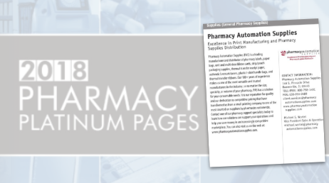 Pharmacy Automation Supplies