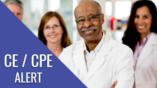 Pharmacy CE Alert, CPE Continuing education for pharmacists, ACPE