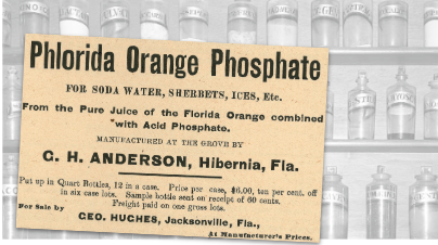 Phlorida Orange Phosphate Vintage Ad