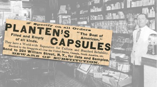 Planten's Capsules Vintage Ad