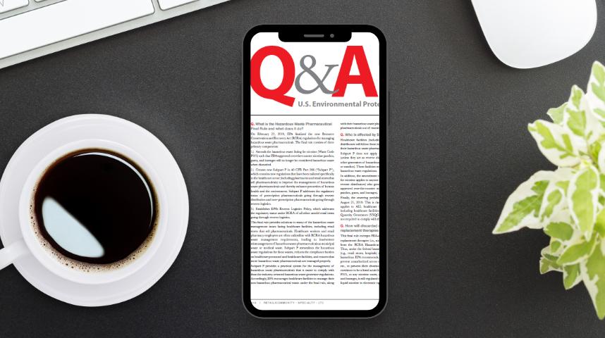 Q&A Fall 2019