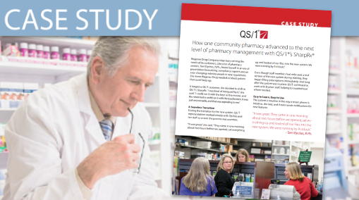 QS/1 (Case Study) One Community Pharmacy