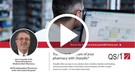 QS/1 (Case Study) One Community Pharmacy Video