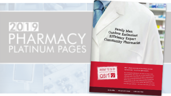QS/1 Pharmacy Platinum Pages Ad / NRX