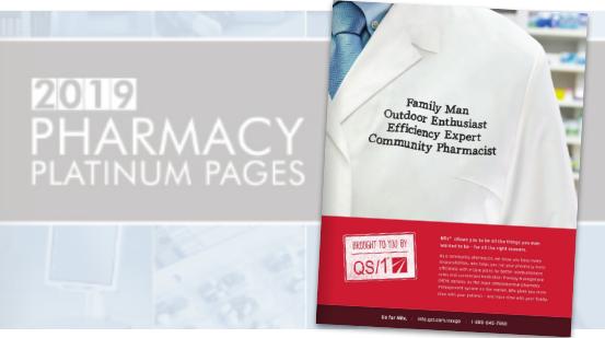 QS/1 Pharmacy Platinum Pages Ad / NRX