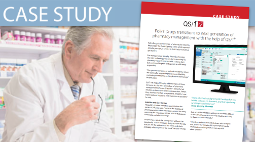 QS/1 (Polk's Drugs) Case Study