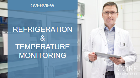 Refrigeration and temp monitoring