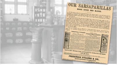 Sarsaparillas Vintage Ad