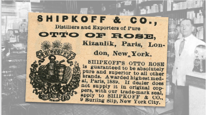 Shipkoff & Co Otto Of Rose Vintage Ad