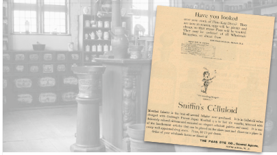Sniffin's Celluloid Vintage Pharmacy Ad