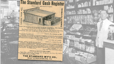 Standard Cash Register Vintage Ad