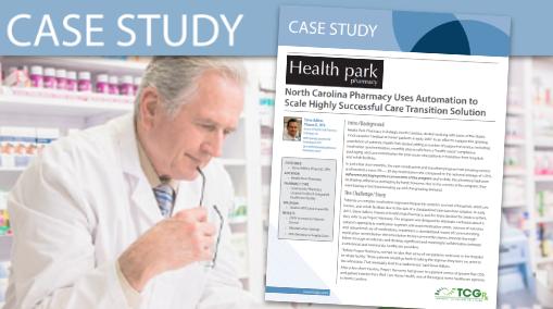 TCGRx (Health Park) Case Study