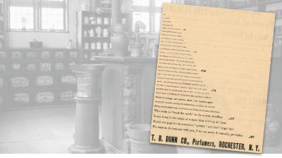 T. B. Dunn Co., Perfumers Vintage Ad