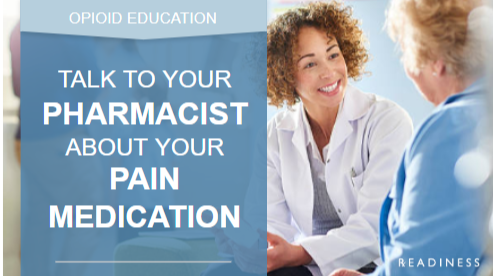 Talk to Your Pharmacist about Your Pain Medication
