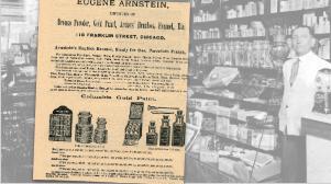 Vintage Eugene Arnstein Imports Ad