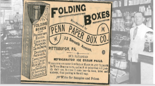 Vintage Penn Paper Box Co. Ad