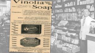 Vintage Vinolia Soap Ad