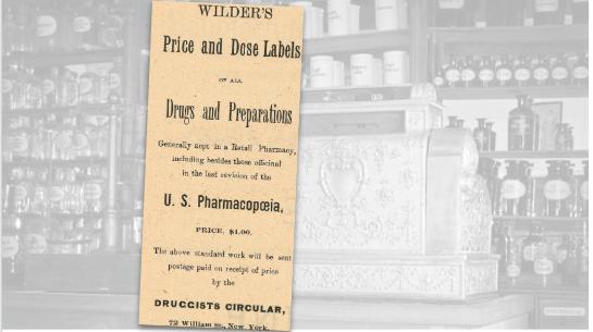 Wilder's Vintage Ad