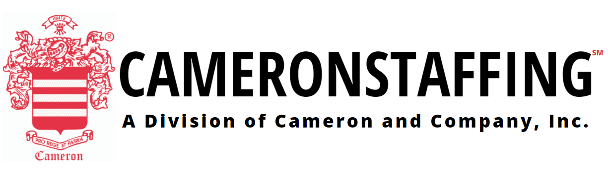CAMERONSTAFFING℠, A Division of Cameron and Company, Inc.