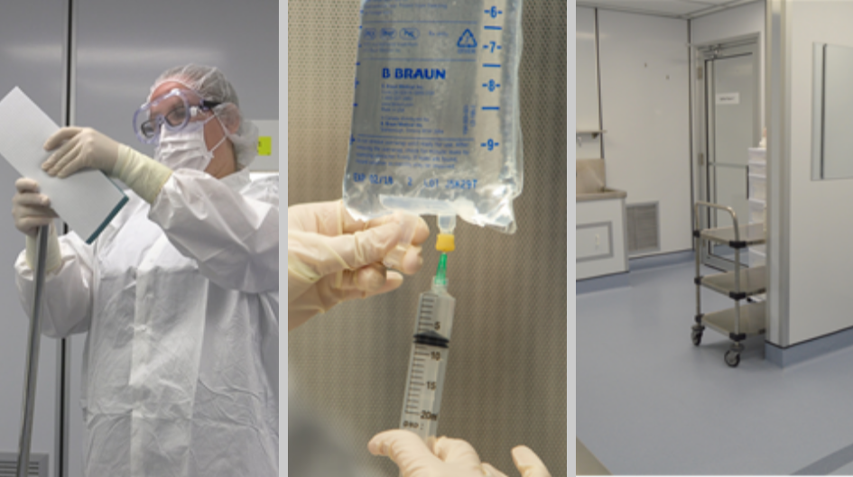 iv compounding, cleanroom, criticalpoint