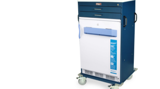 harloff vaccine freezer cart
