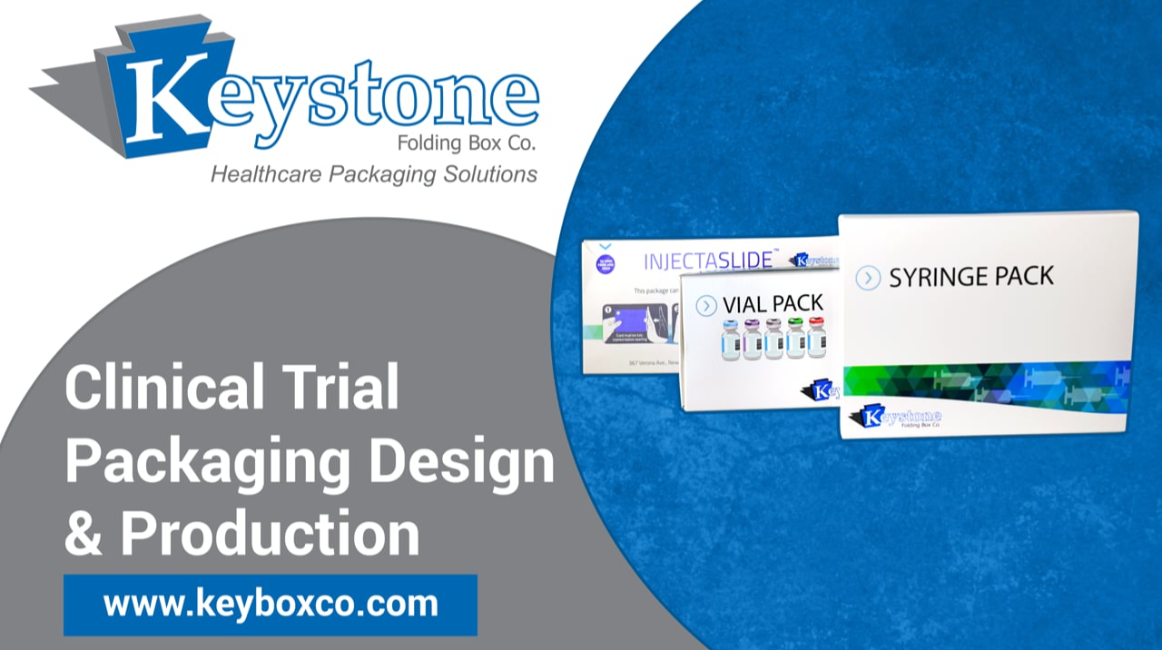 keystone box clinical trail packaging design