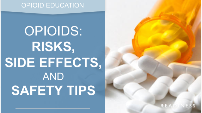 opioid risk, side effects readiness