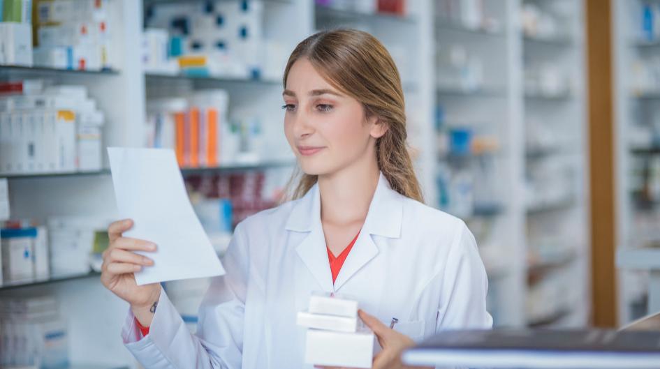 pharmacist women thinking